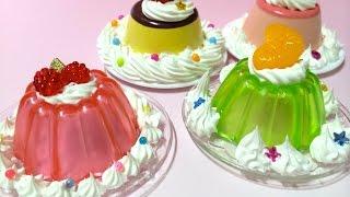 getlinkyoutube.com-Replica Sweets ホイップる プリン&ゼリーセット
