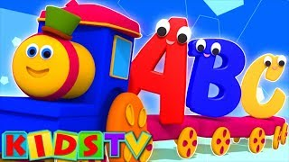 Bob The Train | Alphabet Adventure | abc Song | abcd song