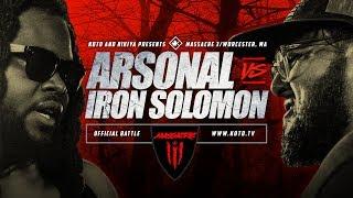 KOTD - Arsonal vs Iron Solomon   #MASS3