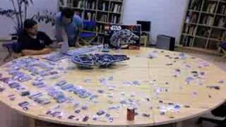getlinkyoutube.com-Time Lapse of LEGO Millennium Falcon 10179 Build