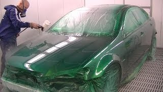 "getlinkyoutube.com-VE SS Commodore ""Poison Ivy Green"" Spray Painting"