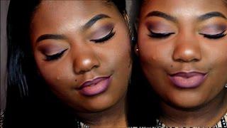 getlinkyoutube.com-Simple Cool Toned Matte Eyeshadow Makeup Tutorial