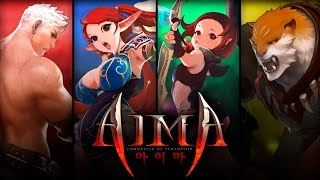 getlinkyoutube.com-Aima (아이마) - Classes & Character Creation - Final Test - F2P - KR