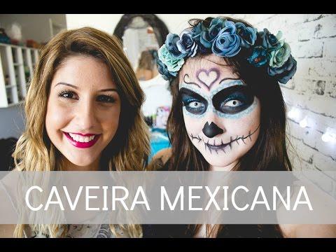 Make Up Tutorial: Caveira Mexicana com Ari Cretella | Melina Souza