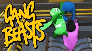 getlinkyoutube.com-I WHIP MY CAPE BACK AND FORTH | Gang Beasts Online
