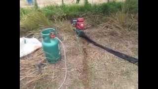 getlinkyoutube.com-สอนวิธีสูบน้ำใช้แก๊ส 1