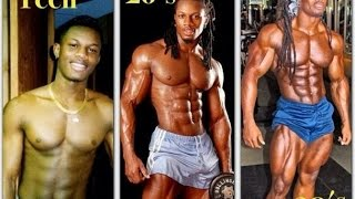 Ulisses Jr.  Transformation-Workout-Diet Plan-Before After