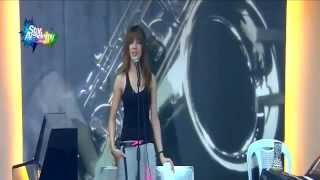 getlinkyoutube.com-شاهد سهيلة تتمرن على أغنية بذمتك على مسرح ستار اكاديمي 11