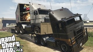 getlinkyoutube.com-GTA 5 PC Mod's - Truck Trailer Mod! (Awesome Hauler Mod)