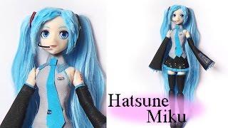 getlinkyoutube.com-Hatsune Miku Inspired Doll (Poseable) - Polymer Clay Tutorial