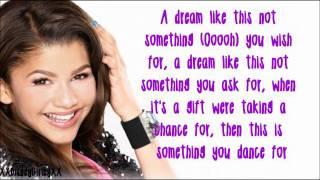 getlinkyoutube.com-Something To Dance For - Zendaya - Lyrics *FULL SONG*