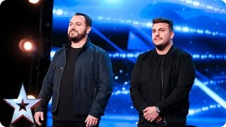DNA leave the audience and Judges totally spooked   Auditions Week 1   Britain's Got Talent 2017