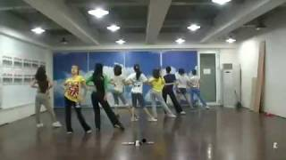 getlinkyoutube.com-SNSD Genie Dance Practice 090608 Girl Generation
