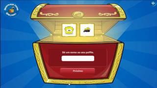 getlinkyoutube.com-Club Penguin - Usando um Codigo para Destravar Peruca para Puffle Janeiro 2012