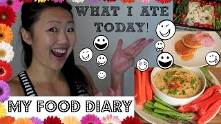 getlinkyoutube.com-WHAT I EAT IN A DAY (My Food Diary) - 6 meal and snack ideas