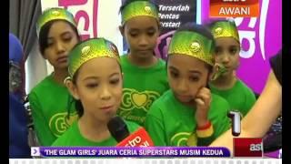 getlinkyoutube.com-'The Glam Girls' juara Ceria Superstars musim kedua