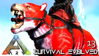 ARK: SURVIVAL EVOLVED - NEW THYLACOLEO & RIDEABLE LEECH TAMING !!! E13 (MODDED ARK PUGNACIA DINOS)