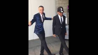 Chance The Rapper & Stephen Curry dancing together is the best thing you'll watch today.