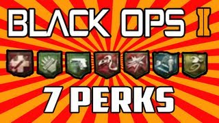 Black Ops 2 Zombies Buried: How To Get ALL 7 Perks By Round 1! How To Get 3 FREE Perks At Once!