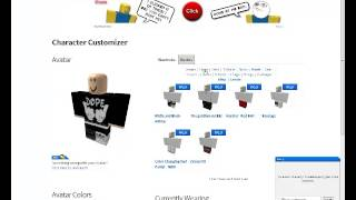 getlinkyoutube.com-Roblox - How to Make Ur Roblox Guy Look Good 2013!