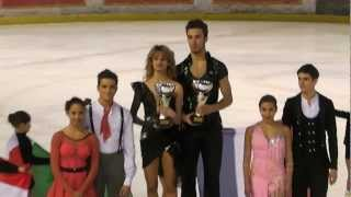 getlinkyoutube.com-Estelle ELIZABETH et Romain LEGAC - International Trophy of Lyon 2013 - Podium