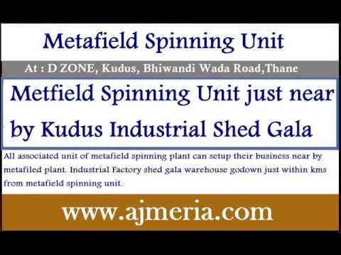 MetafieldSpinning-Manufacturing-unit-near-by-mumbai-Factory-Shed-Gala-Godown-Warehouse-Industrial-mu