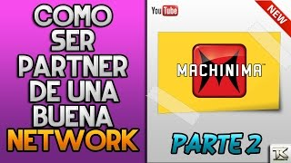 getlinkyoutube.com-COMO SER PARTNER DE MACHINIMA NETWORK | BENEFICIOS,PAGOS Y REQUISITOS | 2017