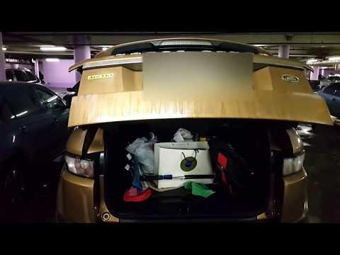 ЗАКРЫТИЕ багажника с пульта Range Rover Evoque
