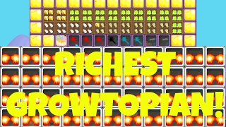 getlinkyoutube.com-Growtopia | Richest player in Growtopia! (+1MILLION WLS)