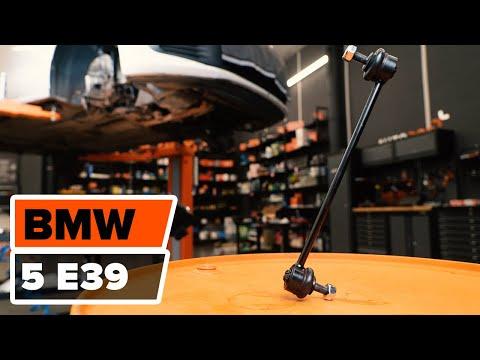 Как се сменят предна стойка на стабилизатор на BMW 5 E39 урок | Autodoc