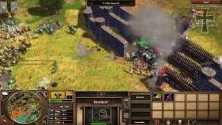 getlinkyoutube.com-Age of Empires III: Asian Dynasties - 5ª Partida Multijugador - Pablo y Fede