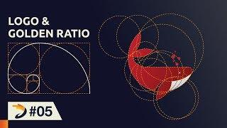 Adobe Illustrator Tutorial | Whale Logo Design with Golden Ratio