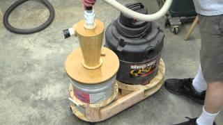 getlinkyoutube.com-Shop Vac 5 Gallon Cyclone Separator Part 4