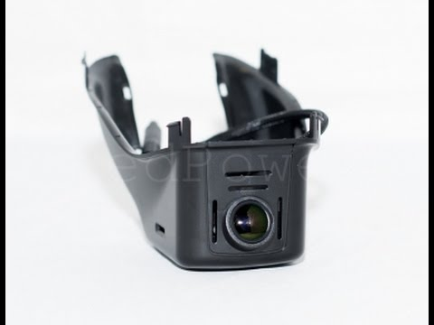 Видеорегистратор штатный для Volvo. Видеообзор на столе и в автомобиле.