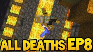 getlinkyoutube.com-Minecraft Story Mode - ALL DEATH SCENES! - Episode 8