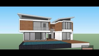 getlinkyoutube.com-Sketchup pro 2015  create Modern House