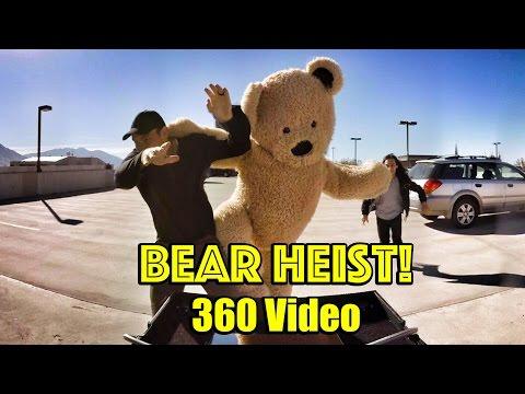 Bear Heist! #360 VR Experience!