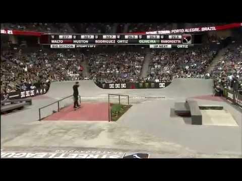 Skate Paradise - Luan Oliveira bastidores da Street League