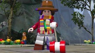 getlinkyoutube.com-LEGO Dimensions - Secret TARDIS Interior Fourth Doctor & Free Roam (Character Showcase)