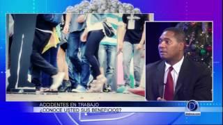 El abogado Víctor Arias explica los beneficios de las personas que sufren accidentes en el trabajo
