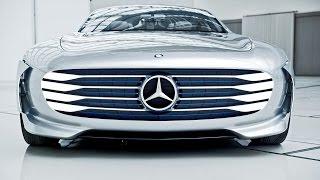"getlinkyoutube.com-Mercedes-Benz ""Concept IAA"" (Intelligence Aerodynamic Automobile) Footage"