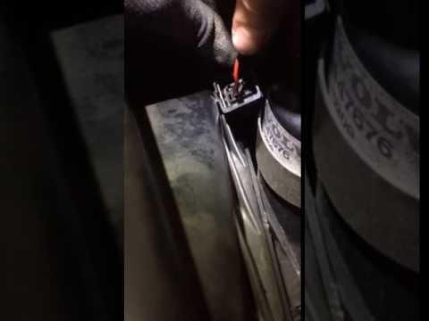 Test shunt pressostat frein - VOLVO 480 ABS
