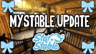 getlinkyoutube.com-Star Stable - New My Stable Update !