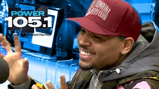 Chris Brown Interview at The Breakfast Club Power 105.1 (02/23/2015)