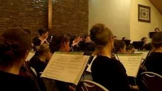 His Eye is on the Sparrow - God's Bible School Orchestra width=