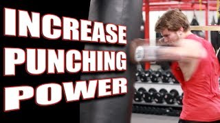 getlinkyoutube.com-3 Exercises to Increase Your Punching Power