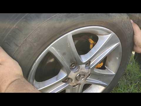 Разбитые рулевые тяги Mazda 6 GG