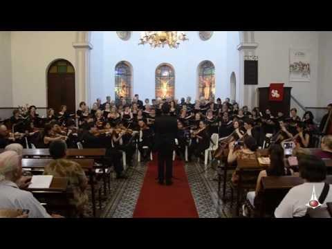 Castelo forte - Coral e Orquestra experimental - Igreja Luterana - Rio Claro