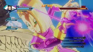 getlinkyoutube.com-Super Galick Gun & Burst Kamehameha Gameplay | Dragon Ball Xenoverse |