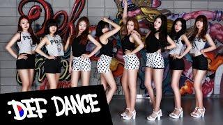 getlinkyoutube.com-Sistar(씨스타) Touch My Body(터치마이바디) Dance Cover 데프댄스스쿨 수강생 월평가 최신가요 방송댄스 데프컴퍼니 kpop cover 댄스학원